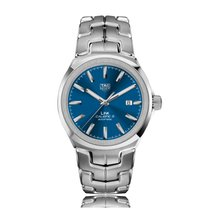 TAG Heuer Link Automatic Stainless Steel Blue Dial Mens Watch...