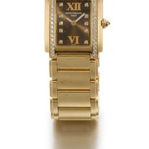 Patek Philippe | A Pink Gold And Diamond-set Rectangular...