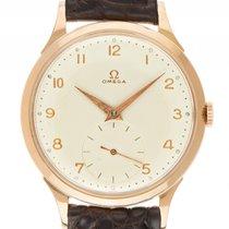 Omega Vintage kleine Sekunde 18kt Gelbgold Handaufzug Armband...