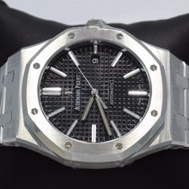 Audemars Piguet Royal Oak 41mm Black Dial B/p 15400st.oo.1220s...