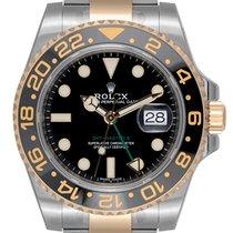 ロレックス (Rolex) Rolex GMT-Master II Steel And Gold Black Dial...