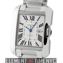 Cartier Tank Collection Tank Anglaise Medium 30mm Stainless Steel