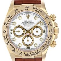 Rolex Men's 18k Yellow Gold Used Rolex Cosmograph Daytona...