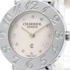 Charriol St-tropez Pink Mop Steel Quartz Ladies Watch 028a...