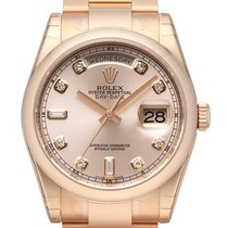 Rolex Day-Date 36 18 kt Everose-Gold 118205 Pink DIA