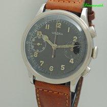 Lemania Vintage Militär Chronograph RLM