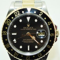 Rolex GMT Master II Gold and Steel