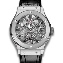 Hublot Ultra-Thin Skeleton Tourbillon Dial Skeleton Automatic...