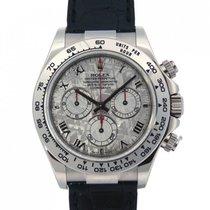 Rolex Daytona Oro Bianco Meteorite 116519