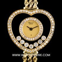 Chopard Y/G Heart Shaped Happy Diamonds Dial Ladies 21/4218