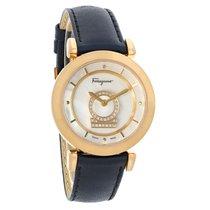 Salvatore Ferragamo Minuetto Series Ladies Diamond Watch...