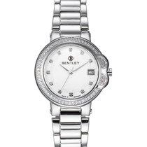 Bentley 'lady Bentley' 68 Diamond Quartz Watch 35mm Ss...