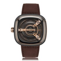 Sevenfriday M-Series Rose Gold PVD Automatic Mens Watch M2/2