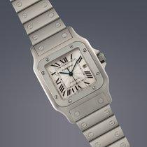 Cartier Santos steel automatic watch FULL SET