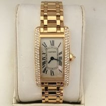 Cartier Tank Americaine Solid Yellow Gold with Cartier factory...