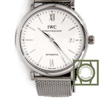 IWC Portofino Automatic 40mm Full Steel Silver Dial NEW