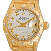 "Rolex Bark Finish ""Diamond President""."