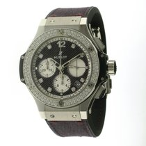 Hublot Big Bang Purple Jeans Diamonds Dial