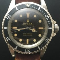 Rolex Submariner 5513 Gilt Glossy Tropical