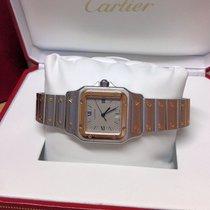 Cartier Santos 187901 - Serviced By Cartier