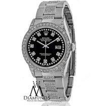 Rolex Diamond Rolex Datejust 16200 36mm Diamond Oyster...