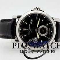Ulysse Nardin Dual Time Big Date 243 -55 2011 Black Dial  42mm...