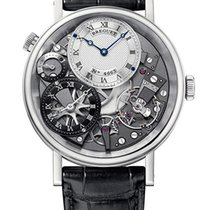 Breguet Brequet Tradition 7067 18K White Gold Men's Watch