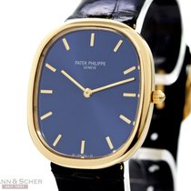 Patek Philippe Ellipse Man Size Ref-3738/100 18k Yellow Gold...