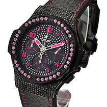 Hublot 341.SV.9090.PR.0933 Big Bang Black Fluo Pink in Black...