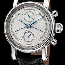 Chronoswiss Sirius Chronograph Retrograde Steel-Silver...