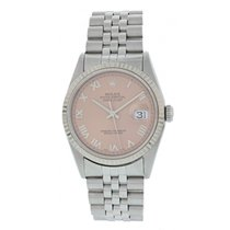 Rolex Oyster Perpetual Datejust 16234 Salmon Dial