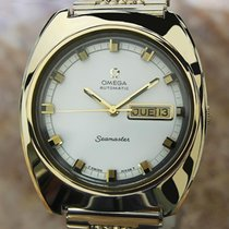 Omega Seamaster 39mm Mens Automatic Stainless Steel Vintage...