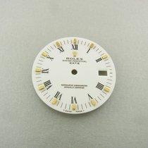 Rolex Oyster Date Gold Zifferblatt Weiß White Roman Dial Ref...