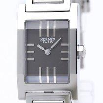Hermès Tandem Stainless Steel Quartz Ladies Watch Ta1.210...
