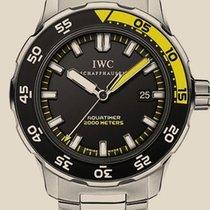 IWC Aquatimer Automatic 2000 Black Dial