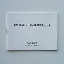 """Omega Libretto / Booklet """"Operating Instruction"""""""