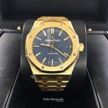 Audemars Piguet Royal Oak Ladie Yellow Gold Blue Dial 15450BA....