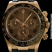 Rolex Everose Chocolate 18k Rose Gold Daytona Box & Papers