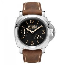 Panerai Luminor 1950 3 Days Power Reserve Acciaio  Mens Watch...
