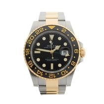 ロレックス (Rolex) GMT-Master II Stainless Steel & 18k Yellow...