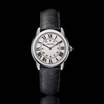 Cartier Solo De Cartier Stainless Steel White Quartz WSRN0019