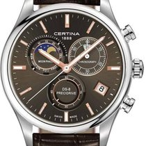 Certina DS 8 Herrenuhr Chronograph Mondphase C033.450.16.081.00