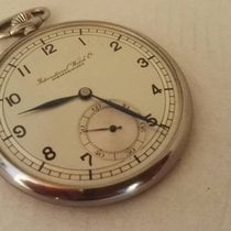 IWC Pocket Watch Art-deco  1936 cal 97  steel case