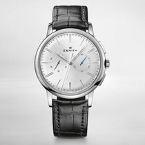 Zenith ELITE CHRONOGRAPH CLASSIC 42mm Steel-Silver Dial...