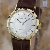 Rolex Ladies 18K Solid Gold 1970 Vintage Manual Swiss Ladies...