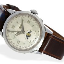 Movado Wristwatch: Movado calendar watch with moon, stainless...