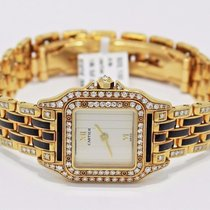 Cartier Panthere 18k Yellow Gold & Enamel All Factory...