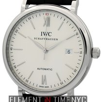 IWC Portofino Collection Portofino Date Steel Silver Dial 40mm