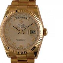 Rolex Day Date Roségold Everose Armband Präsident 36mm Ref....