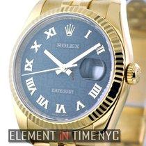 Rolex Datejust Datejust 36mm Black Roman Jubilee